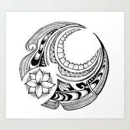 Mahina Art Print
