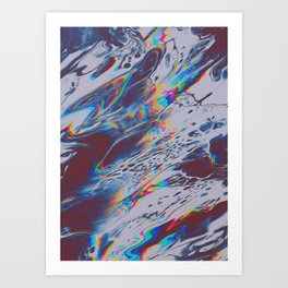 IT SEEMS LIKE ONCE AGAIN YOU'VE HAD TO GREET ME WITH GOODBYE Art Print