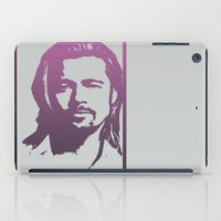 brad pitt iPad Cases featuring Brad Pitt by Dora Birgis