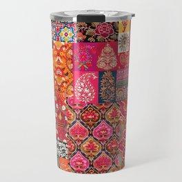 -A35- Traditional Colored Moroccan Artwork. Travel Mug