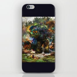 shadow of the witcher iPhone Skin