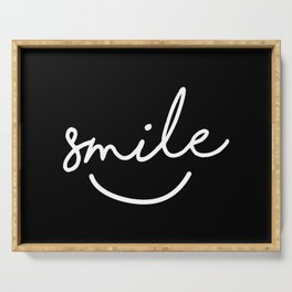 Smile Serving Tray