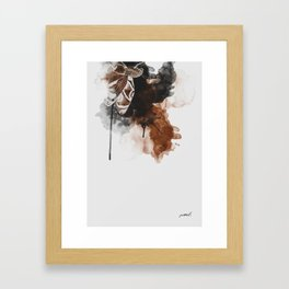 Brown Moth I Framed Art Print