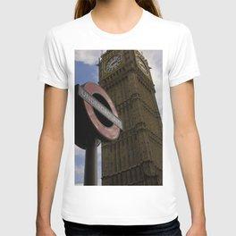 London Underground at BigBen T-shirt