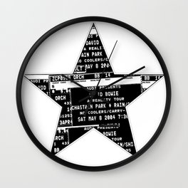Bowie 2019-1 Wall Clock