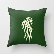 Rohan Horse heraldry Throw Pillow