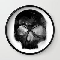 death Wall Clocks featuring Death by chipscompany