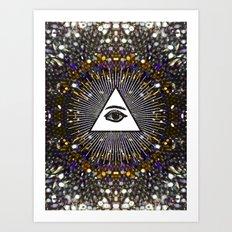 The Power Art Print