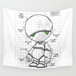 Marvin Plan Wall Tapestry