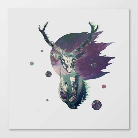The Lord between Worlds Canvas Print