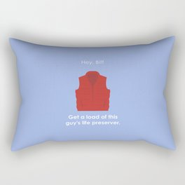 Back to the Future - Life Preserver Rectangular Pillow