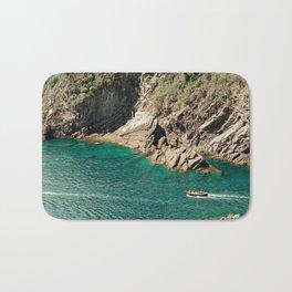 Italian Coast in Cinque Terre Bath Mat