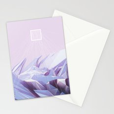Data Crystals Stationery Cards