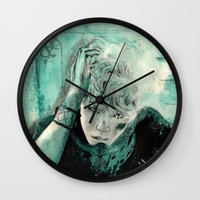 kpop Wall Clocks featuring B.A.P's ZELO by Worldandco