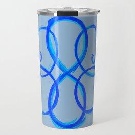 Path Of Life - Blue Travel Mug