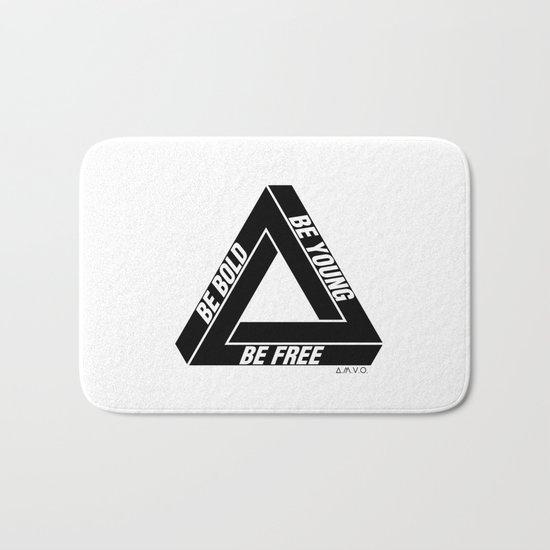Penrose Triangle Bath Mat