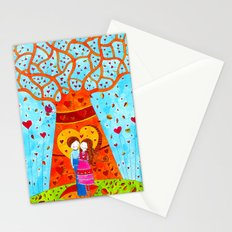 Love#4 - Autumn Tree Stationery Cards