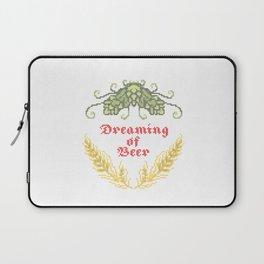 Dreaming of Beer Laptop Sleeve