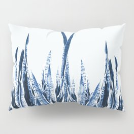 Blue Duotone Pillow Sham