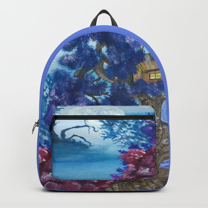 Treehouse and the other side Backpack