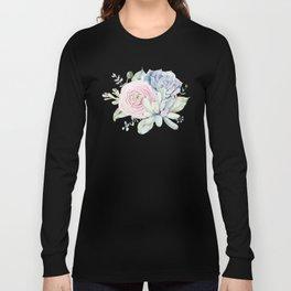 Succulent Blooms Long Sleeve T-shirt