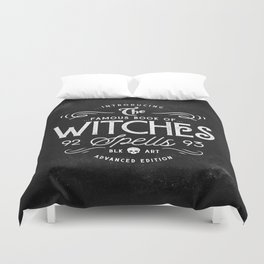 The Witches guide to spells Duvet Cover