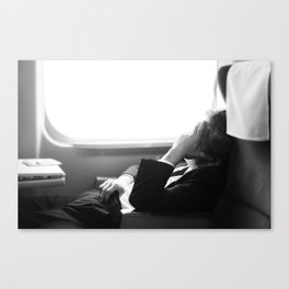 The Bullet Train Canvas Print