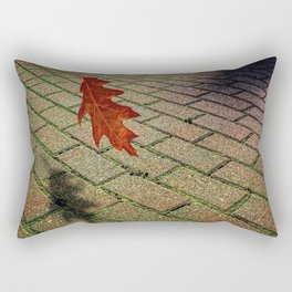 First Leave Of Autumn Rectangular Pillow