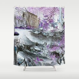 Fungal Ends Shower Curtain