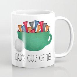 Dad's Cup Of Tee Coffee Mug