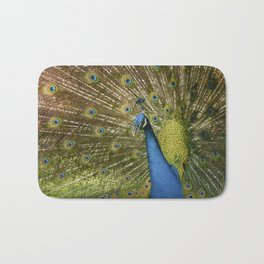 Peacock. Bath Mat