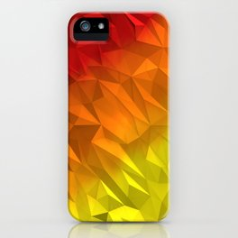 I Love Low Poly 4 iPhone Case