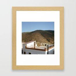 Abrucena, 2013 Framed Art Print