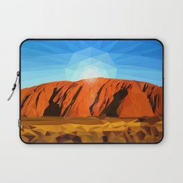 Uluru the Mighty Dreamer - Ayers Rock, Outback - Australia Laptop Sleeve