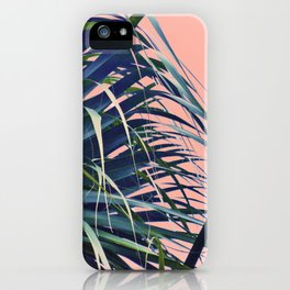 Feather Palm iPhone Case