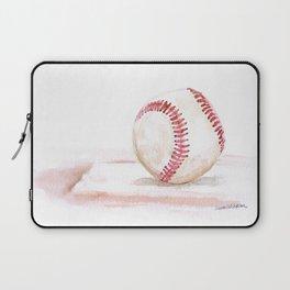 Baseball Watercolor Laptop Sleeve