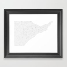 Tessellate Framed Art Print