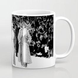 iconic karl looks black and white Coffee Mug