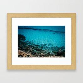 The Sea II Framed Art Print