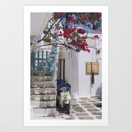 A Summer in Europe Art Print