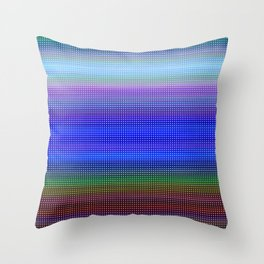 Every Color 102 Throw Pillow