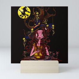 Samhain's Delight Mini Art Print
