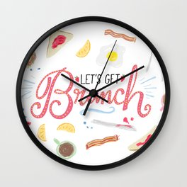 Let's get brunch! Wall Clock