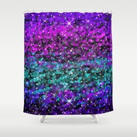 starry night Shower Curtains featuring Starry Night by 2sweet4words Designs