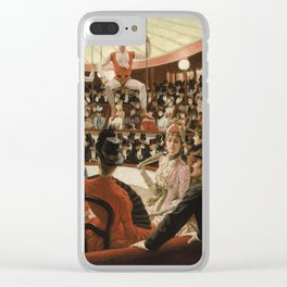James Tissot - Women Of Paris The Circus Lover Clear iPhone Case