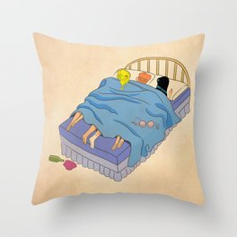 Untitled (the lost digest) Throw Pillow
