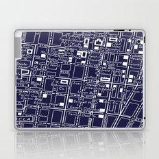 Vintage LA Map Laptop & iPad Skin