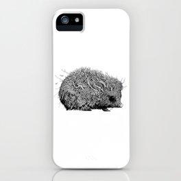 Leaf Hedgehog iPhone Case