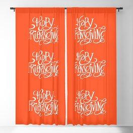 Happy Friendsgiving Blackout Curtain