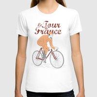 tour de france T-shirts featuring tour de france by cikuta